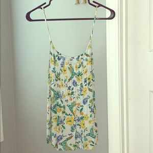 Old Navy Floral Camisole (L)
